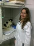 Na clínica aos cuidados da Dra.Tatiana